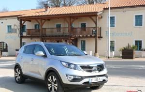 Test du SUV Kia : Le Sportage 4 roues motrices