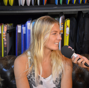 Interview Stephanie Gilmore – Roxy Pro France 2014