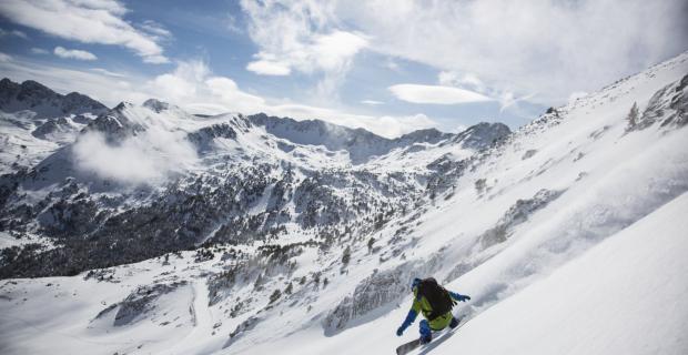 Andorre Snowboard Pistes