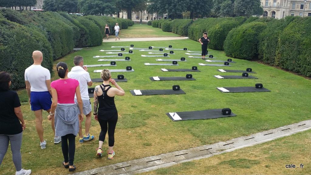 S ance de power pilates au jardin des tuileries paris for Au jardin des tuileries