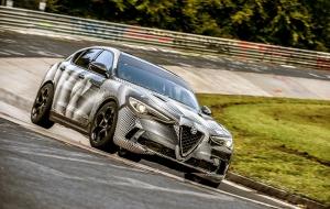 Alfa Stelvio Quadrifoglio, record du tour au Nürburgring pour un SUV !