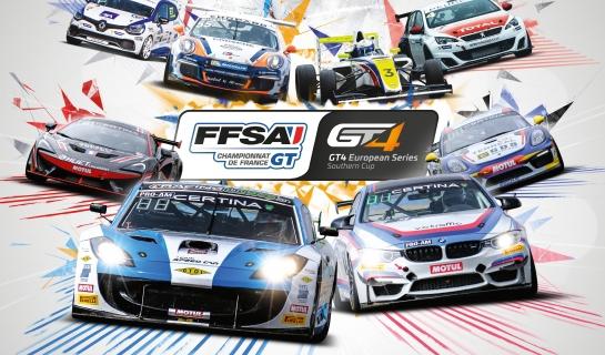 Finale du Championnat de France FFSA GT sur le Circuit Paul Ricard