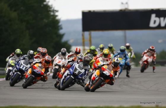Pedrosa réalise le meilleur départ du motoGP à Brno en 2011