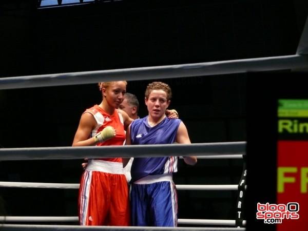 Maiva Hammadouche (CS Clichy) vs Estelle Mossely (RSC Champigny)