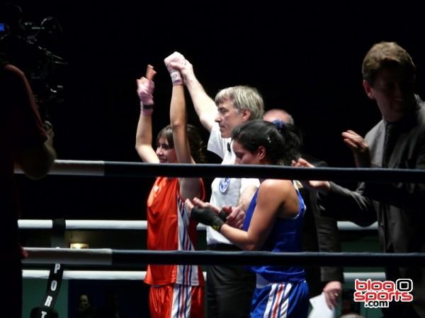 Lydia Boussadia devient championne de France des -48kg