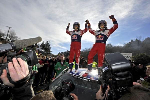 Sébastien Loeb et Daniel Elena remporte le Monte Carlo 2012