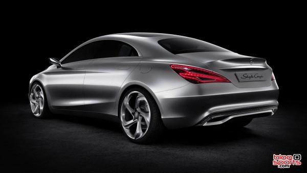 Mercedes Concept Style Coupé vue arrière