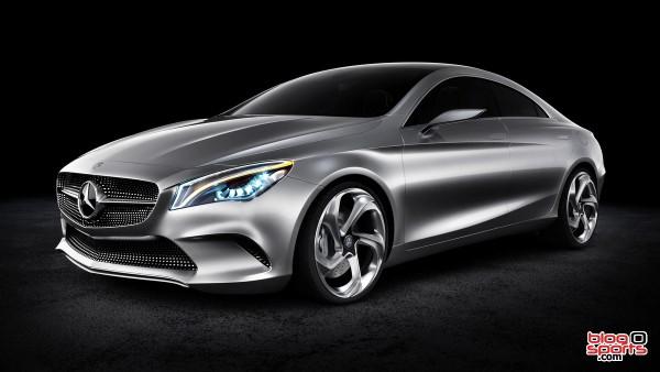 Mercedes Concept Style Coupe face avant