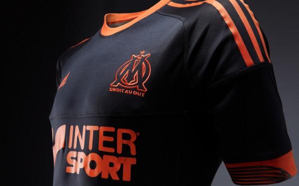Maillot OM Third 2012-2013 face match (noir)