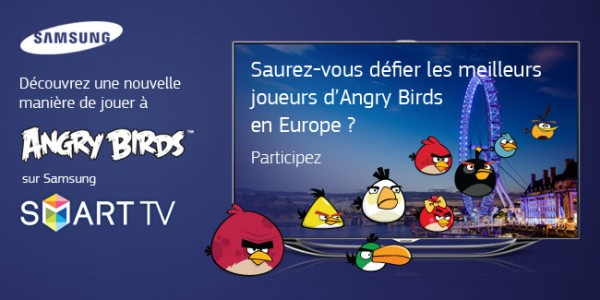 Concours Angry Birds Smart TV